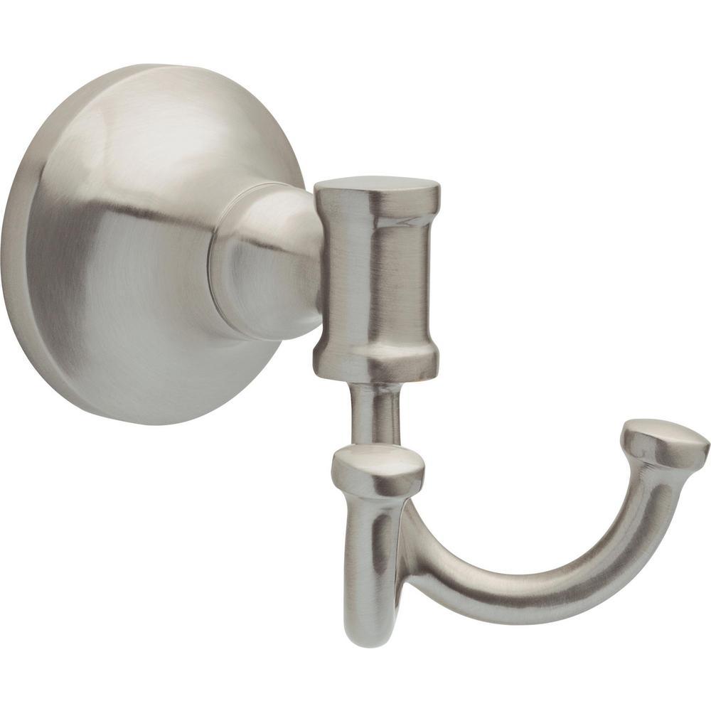 Chamberlain Towel Hook SpotShield in Brushed Nickel