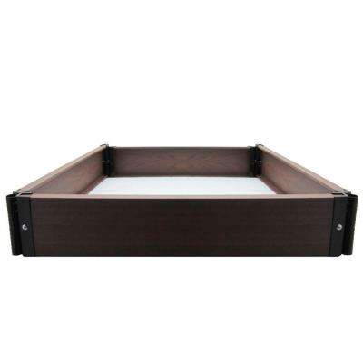 Build Your Own 24 in. x 24 in. Composite Raised Garden Bed Kit