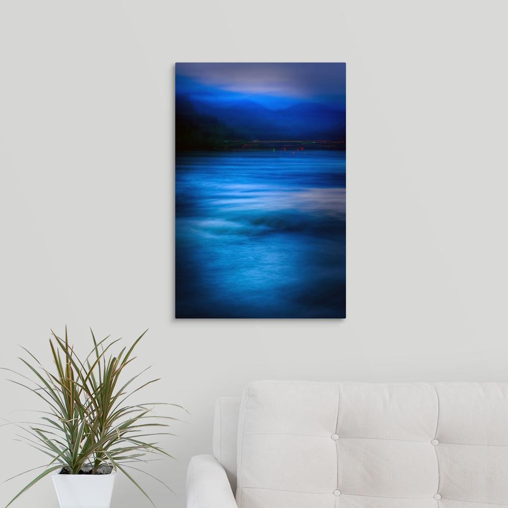 Greatbigcanvas Zen Disturbed By Ursula Abresch Canvas Wall Art