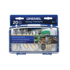 Dremel Cleaning/Polishing Accessory Set (20-Piece) by Dremel