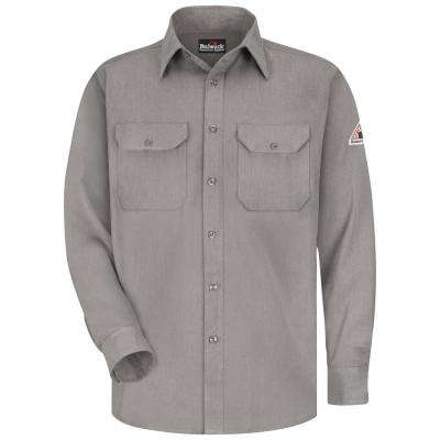 CoolTouch Men's X-Large (Tall) Grey Uniform Shirt