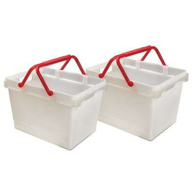 13 in. x 14 in. 9.25 gal. Handy Bin (2-Pack)