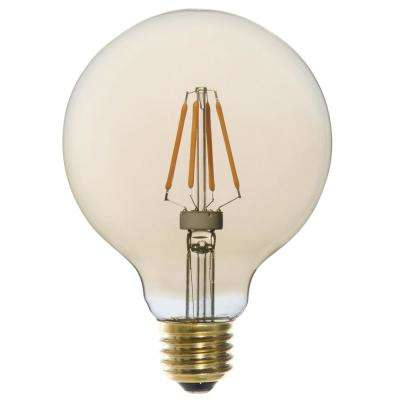 25W Equivalent Vintage G30 Dimmable LED Light Bulbs (6-Pack)