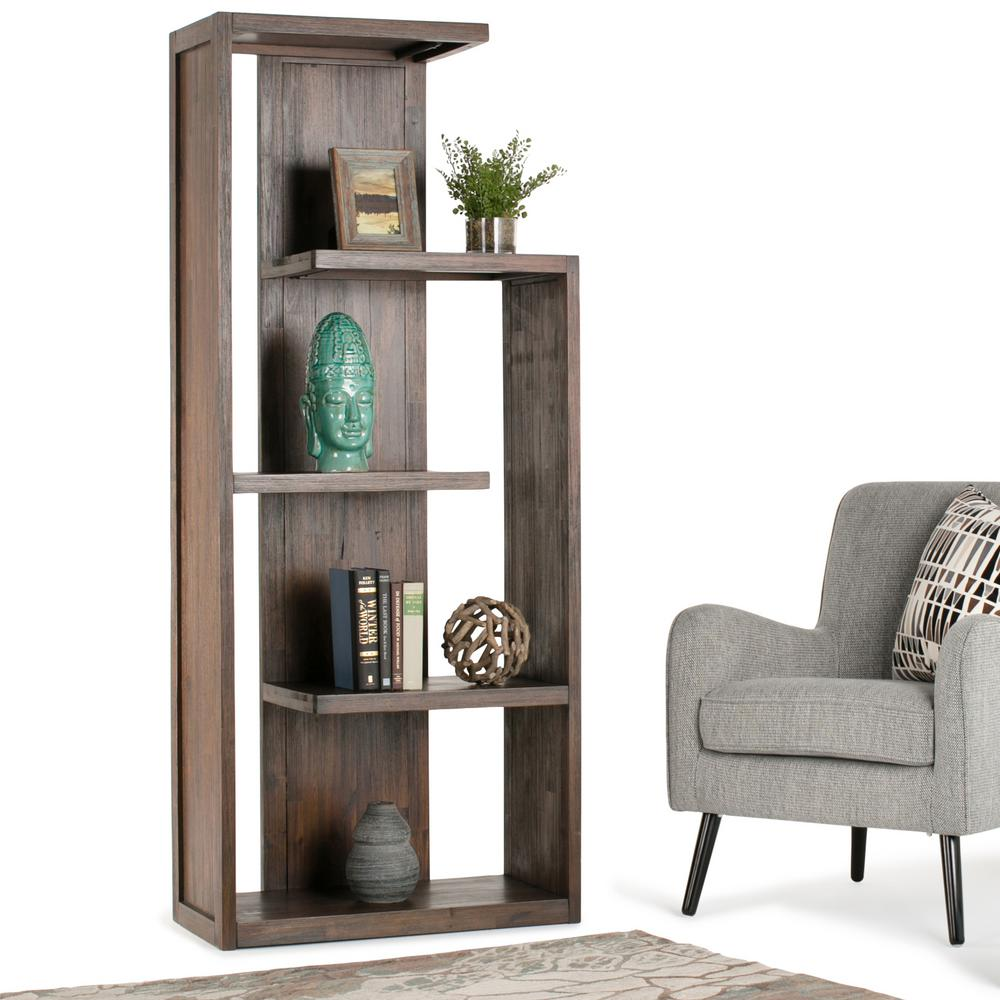 the office wood metal bookcase b black three bookcases furniture hands depot shelf n home