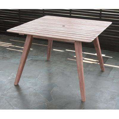 Lorca Square Wood Outdoor Dining Table