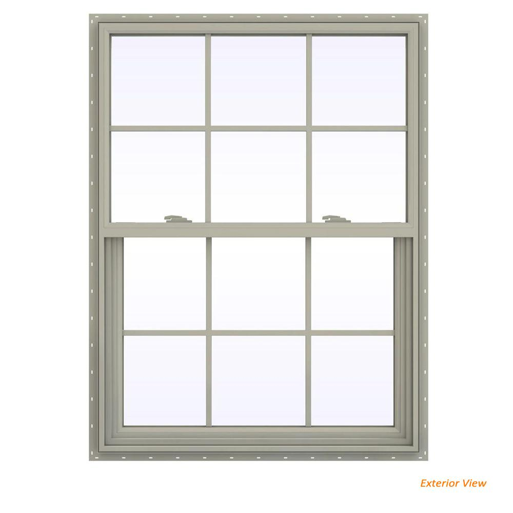 35.5 in. x 47.5 in. V-2500 Series Desert Sand Vinyl Single