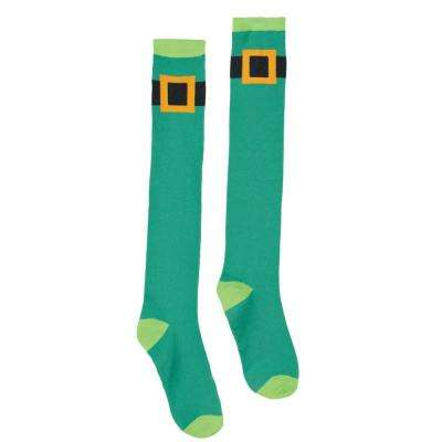 Leprechaun St. Patrick's Day Knee High Socks (2-Count, 2-Pack)