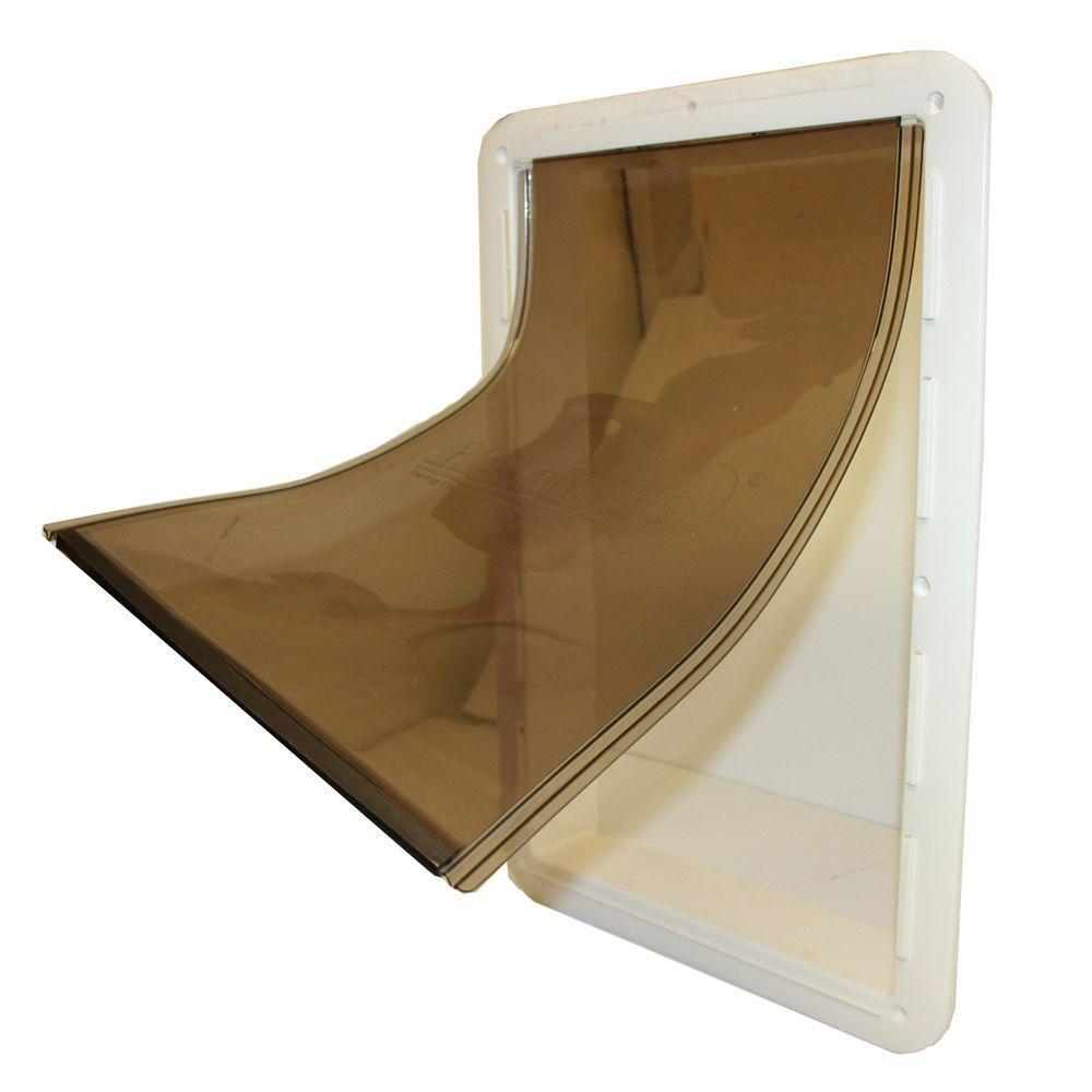Havahart 8.5 in. x 13.125 in. Medium Plastic Pet Door