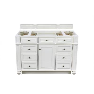 Bristol 48 in. W Bathroom Single Vanity Cabinet Only in Cottage White