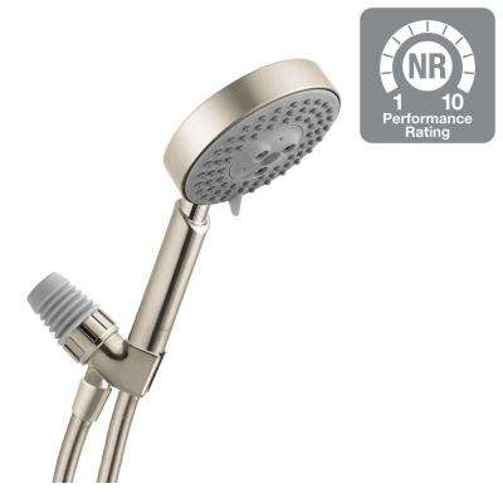 Raindance S 100 AIR 3-Spray Hand Shower Set in Brushed Nickel