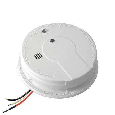 Hardwire Smoke Detector with 9-Volt Battery Backup, Adapters, Ionization Sensor, Test/Hush Button