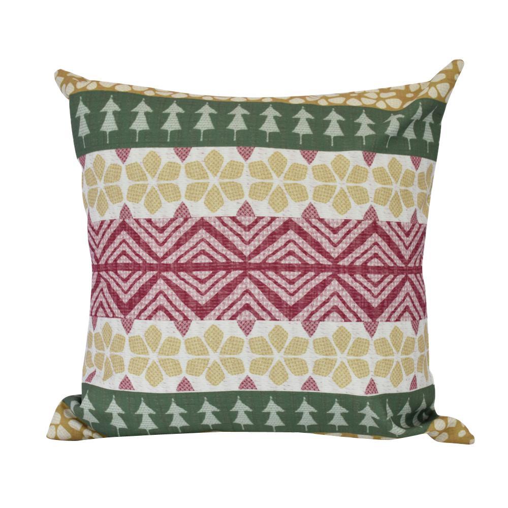 20 in. FairIsle Indoor Decorative Pillow