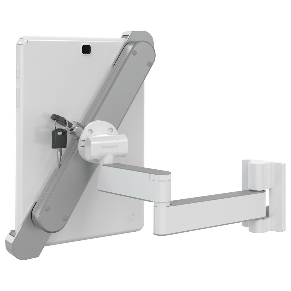 Barkan a Better Point of View Barkan 8 7 in  - 12 in  Lockable Anti-Theft  Tablet Wall Mount Full Motion Rotate Fold Swivel and Tilt up to 3 lbs