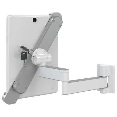 Barkan 8.7 in. - 12 in. Lockable Anti-Theft Tablet Wall Mount Full Motion Rotate Fold Swivel and Tilt up to 3 lbs.