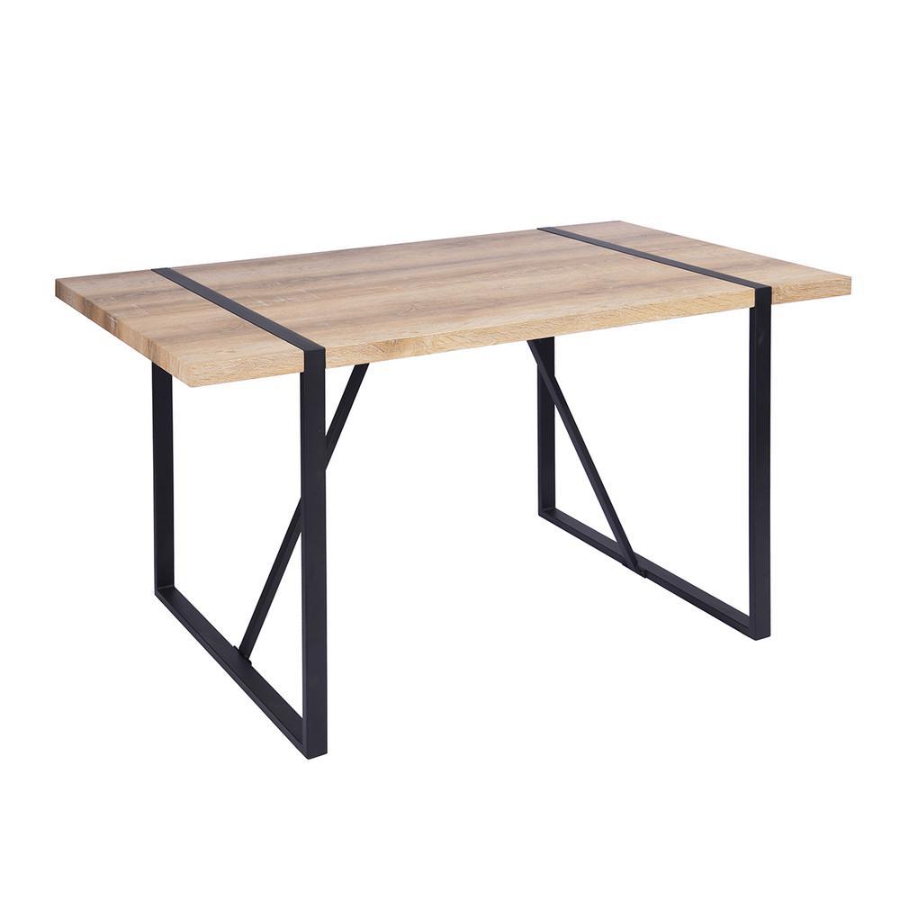 Vexa Beech Color Dining Table