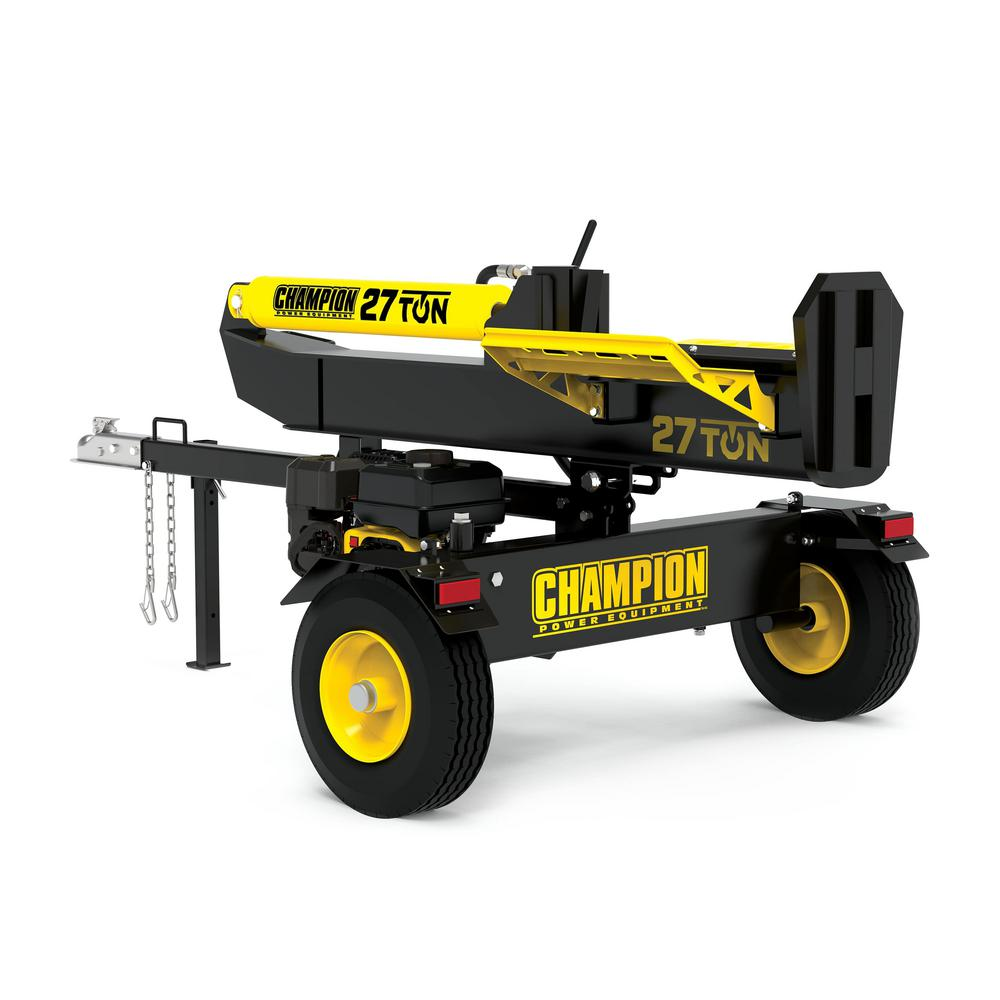 Champion Power Equipment 27 Ton 224 cc Log Splitter
