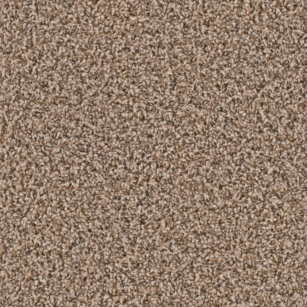 TrafficMASTER Calico Rock Oxford Twist 18 in. x 18 in. Carpet Tile (10 Tiles/Case)