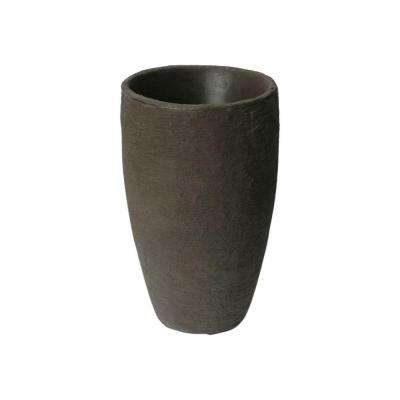 Athena 20.5 in. x 12.6 in. Brown Self-Watering Plastic Planter