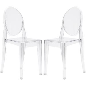 Burton Clear Side Chair (Set of 2)