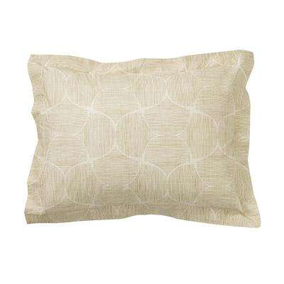 Husk Gold Organic Cotton Percale King Sham