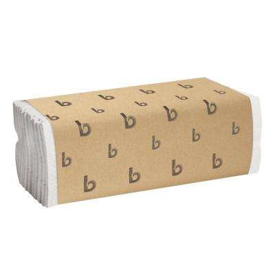C-Fold Paper Towels Bleached White (200 Sheets per Pack, 12 Packs per Carton)