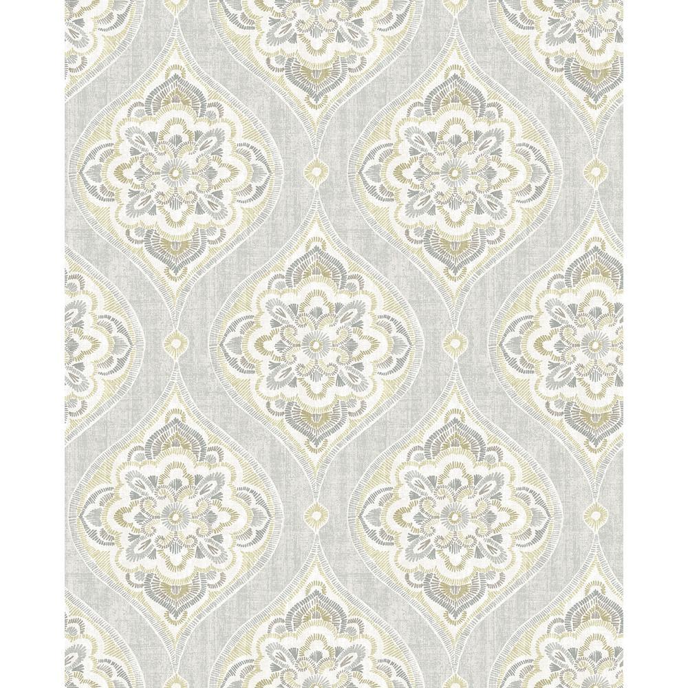 Greys Alida Peel and Stick Wallpaper