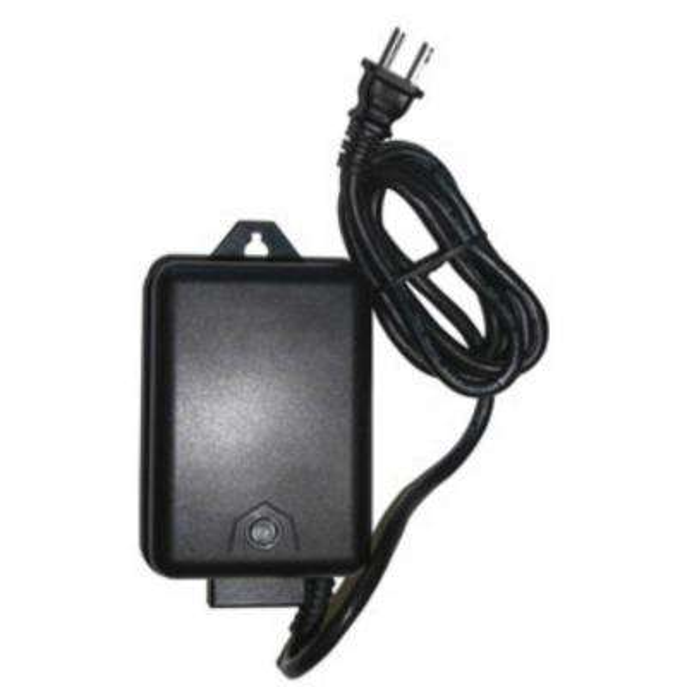 Low Voltage 60-Watt 12-Volt Black Plastic Landscape Lighting Transformer  with Photocell