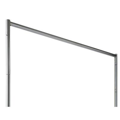 1.25 in. W x 12 in. H Chrome Rolling Garment Rack Height Extension Kit