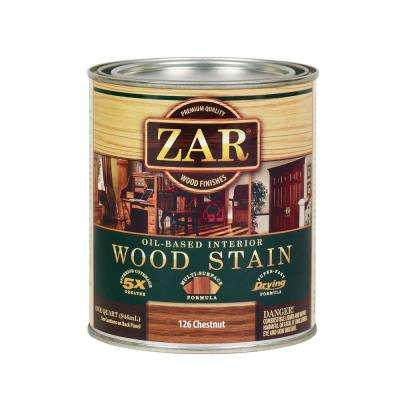 126 1 qt. Chestnut Wood Interior Stain (2-Pack)