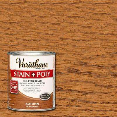 1-qt. Autumn Stain and Polyurethane (Case of 2)