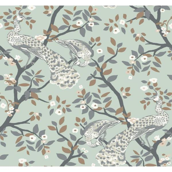 York Wallcoverings Dwellstudio Plume Wallpaper