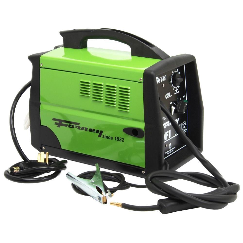 Forney 230-Volt 180-Amp 180FI-A Flux Core Gas/No Gas MIG Welder