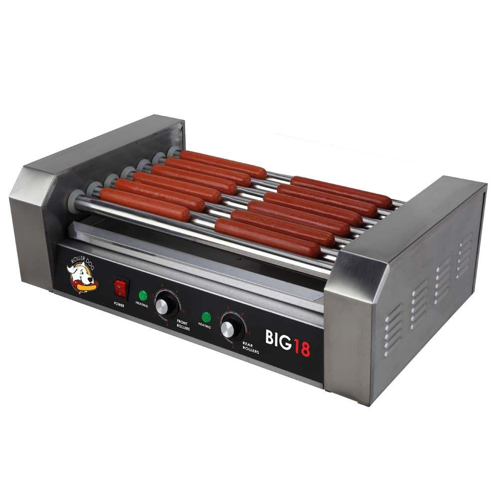 Funtime Roller Dog Hot Dog Roller Grill, Stainless