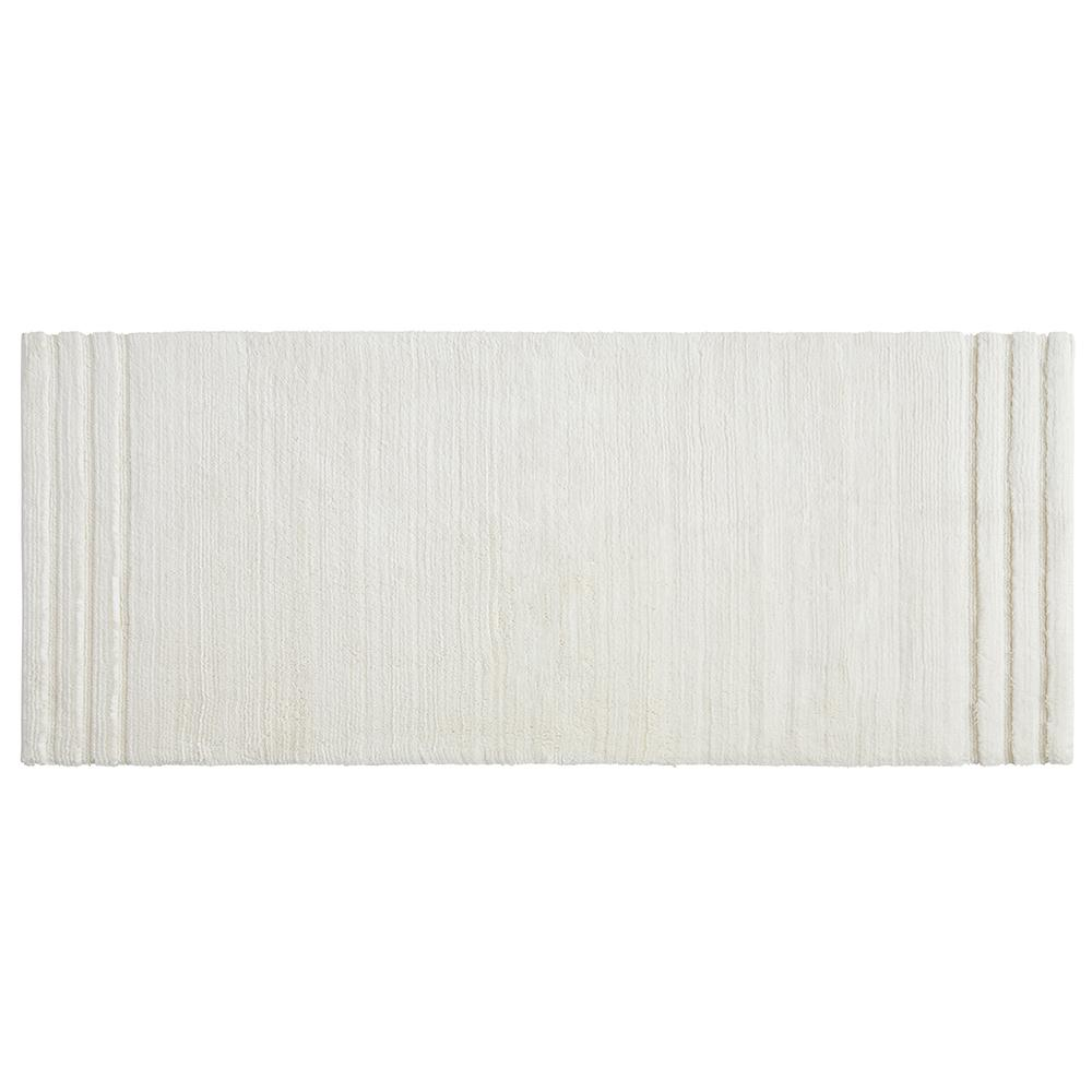 Mohawk Home Empress 24 in. x 60 in. Cotton Runner Bath Rug in Parchment