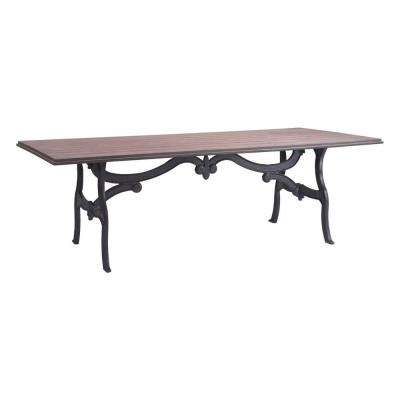 Bellevue Distressed Natural Dining Table