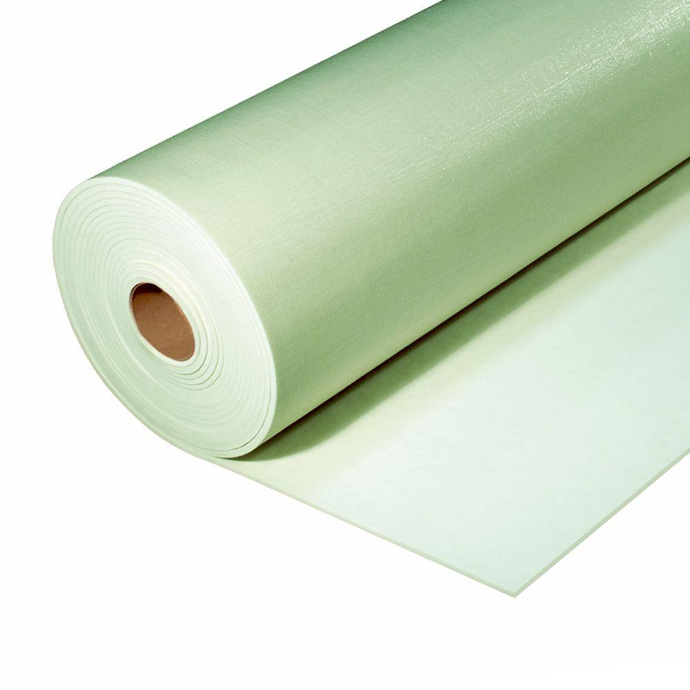6 ft. x 45 ft. Green Premium Carpet Cushion