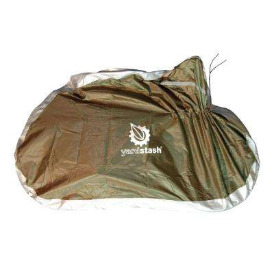 6ft., 8 in. x 2 ft., 6 in. x 3 ft., 8 in. Bicycle Cover Full Zip