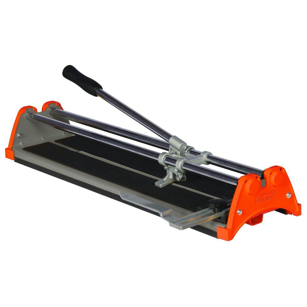 Ceramic Tile Cutter ~ Hdx in rip ceramic tile cutter the home depot