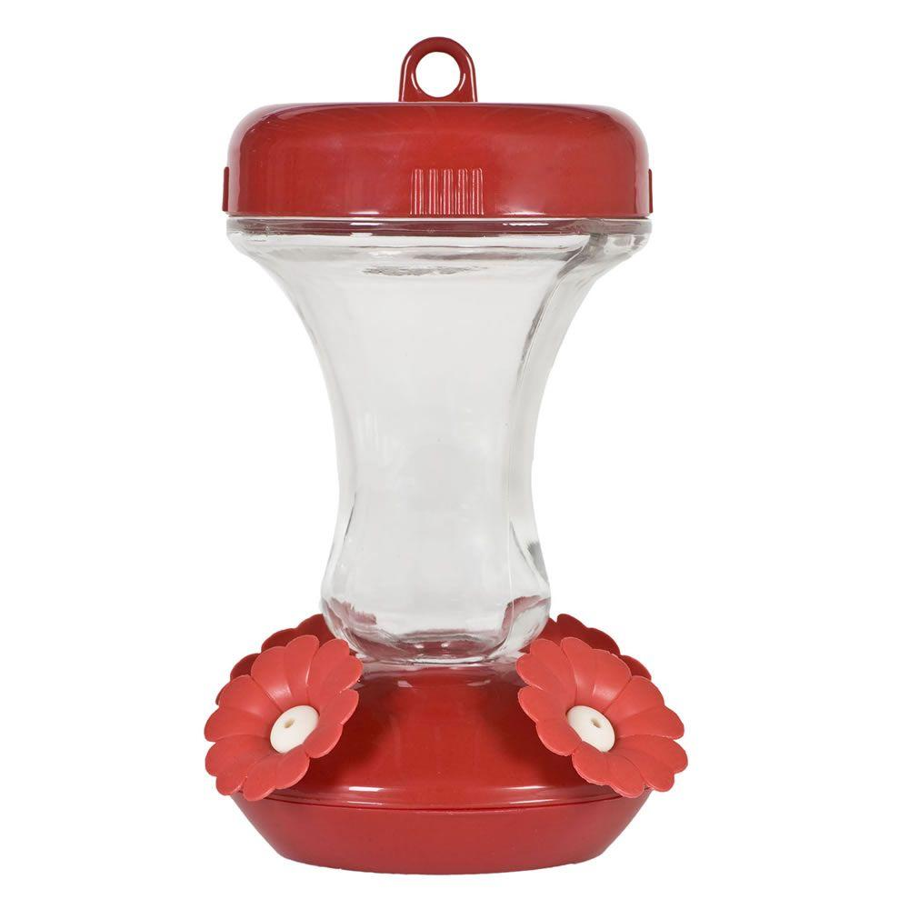 Perky-Pet 8 oz. Glass Top Fill Hummingbird Feeder