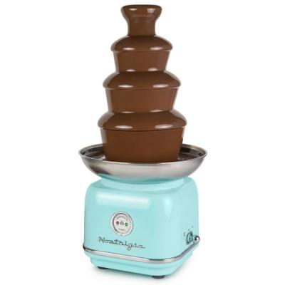 4-Tier Aqua Chocolate Fondue Fountain