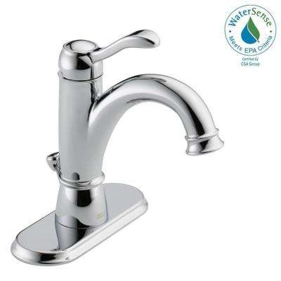 Porter 4 in. Centerset Single-Handle Bathroom Faucet in Chrome