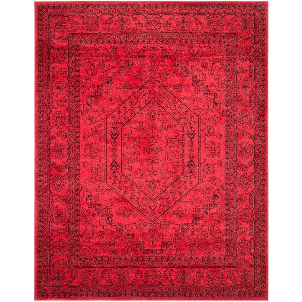 safavieh adirondack redblack 10 ft x 14 ft area rug