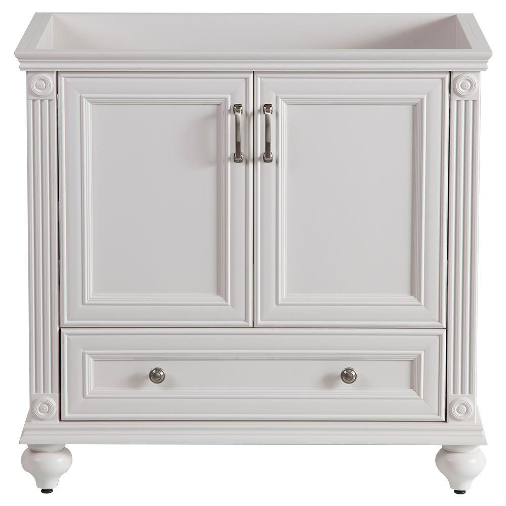 Home Decorators Collection Annakin 36 In W X 34 H 22 D Bath Vanity Cabinet Only Cream