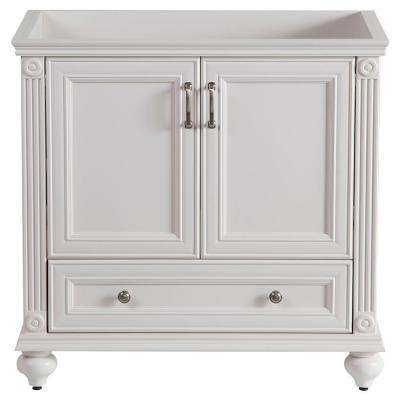 Annakin 36 in. W x 34 in. H x 22 in. D Bath Vanity Cabinet Only in Cream