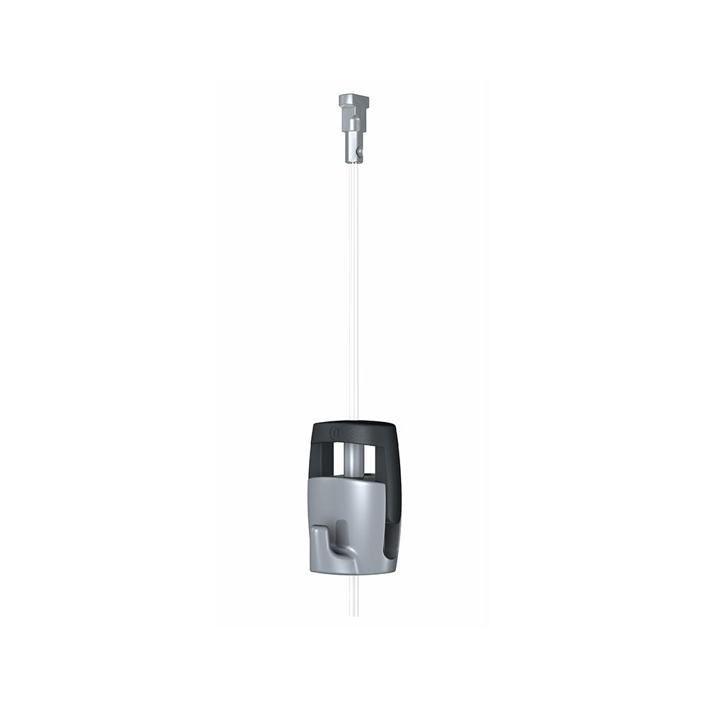 Hangz 44 Lbs Gallery Cable Hanging System 74001 The Home Depot