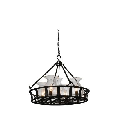 Imperial 5-Light Antique Black Chandelier