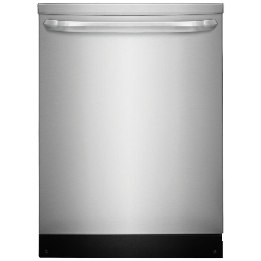 Frigidaire 24 in. Top Control Dishwasher in Stainless Steel, ENERGY STAR
