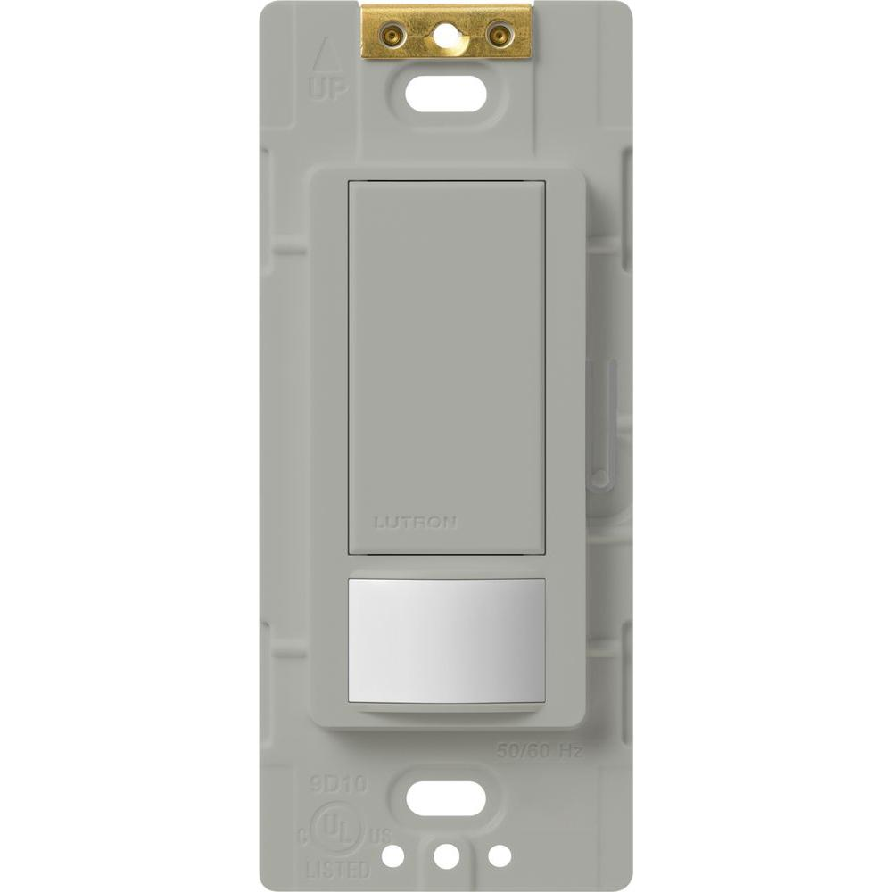 Maestro Motion Sensor switch, 5-Amp, Single-Pole or Multi-Location, Gray