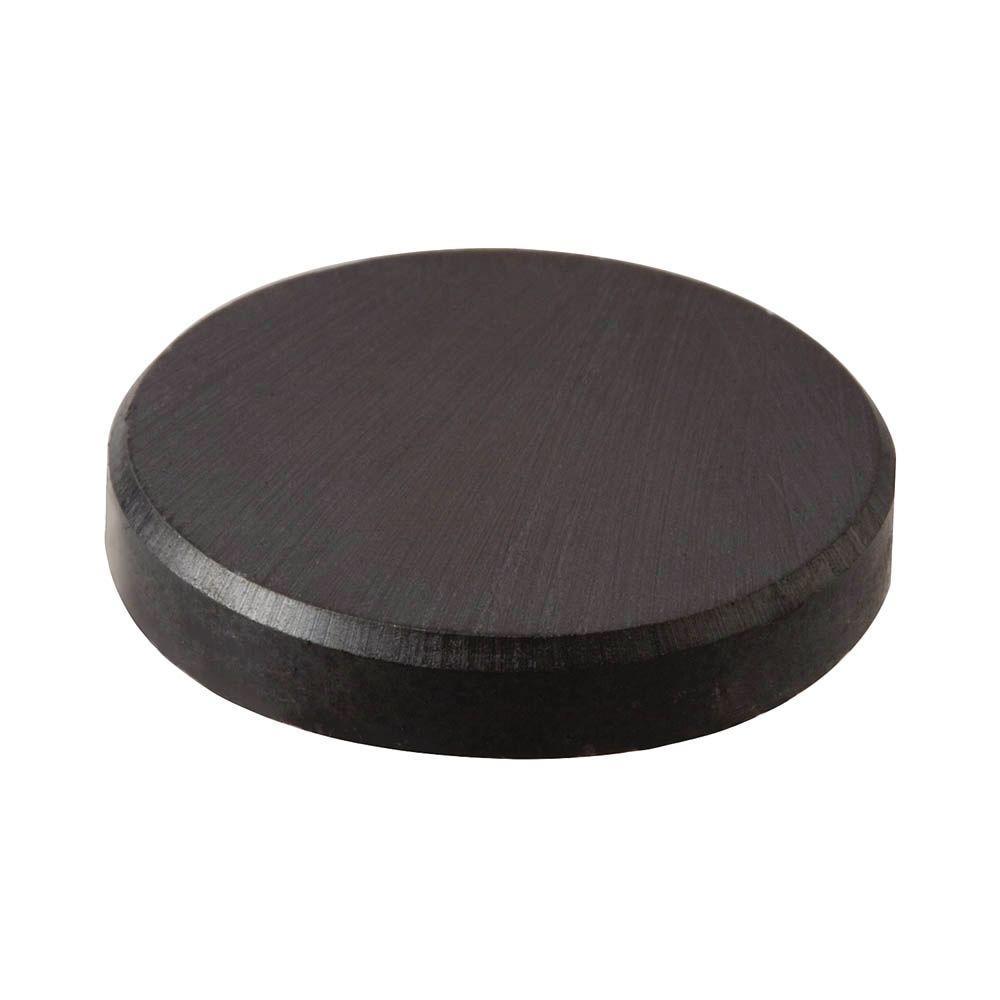 1/2 in. Diameter Black Disc Magnet (10-Pieces)