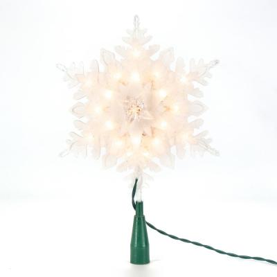 11 in. H Snowflake Tree Topper